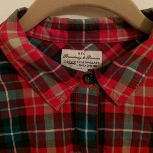 Madewell Tops - Madewell Broadway and Broome Plaid Button Down